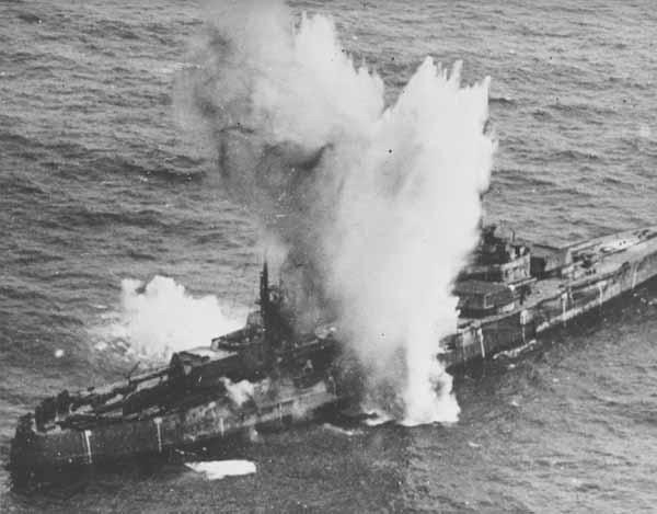 USS Independence was blown up alongside 77 other ships as part of ...