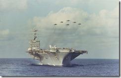 Nimitz Flyover