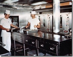 Galley on Proteus