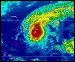 Guam typhoon
