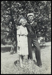 Helen and Butch May 1945