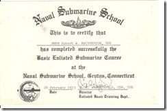 Sub School Graduation 001