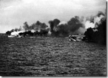 220px-USS_Gambier_Bay_(CVE-73)_and_escorts_making_smoke_off_Samar_1944