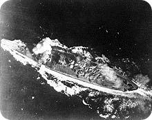 220px-Yamato_hit_by_bomb