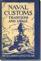 Naval Customs Traditions and Usage