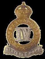 fourth hussars badge