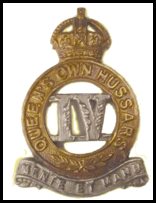 fourth hussars badge