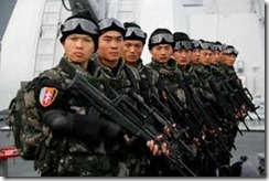 Chinese Navy Marines