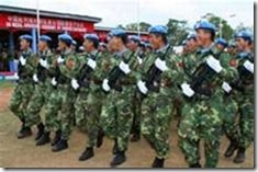 Chinese UN peacekeepers