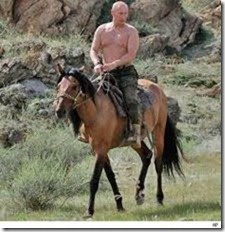 Putin Horsing Around