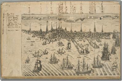 1774_Boston_byPaulRevere_RoyalAmericanMagazine