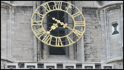 Time keeps on ticking, ticking, into the future