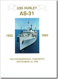 USS Hunley AS-31 (Cold Warrior Extraordinaire) (3/6)
