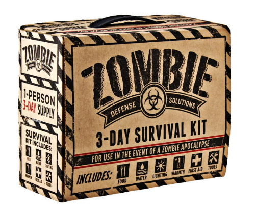Do you have your Zombie Christmas Wish List Yet? (4/6)