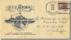 The night before … USS Astoria at Midway (1/6)