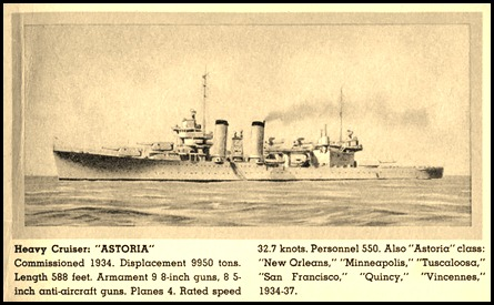 The night before … USS Astoria at Midway (2/6)