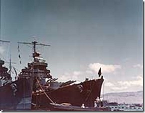 The night before … USS Astoria at Midway (3/6)