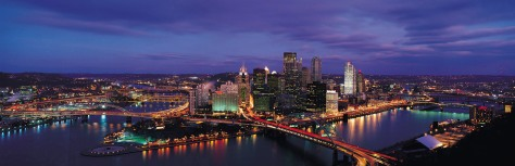 Pittsburgh Skyline from Mount Washington Pennsylvania USA