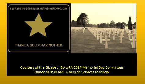 Gold Star Mother Banner