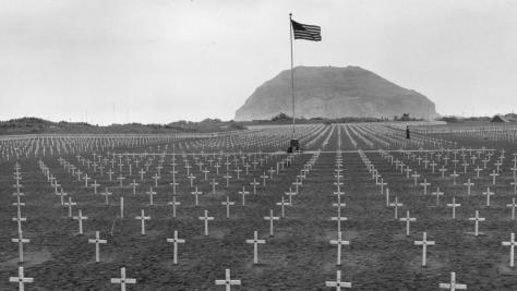 Iwo Jima Cemetary