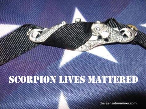 Scorpion lives matter