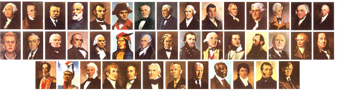 "Writing the story of the ""Eminent Americans… Namesakes of the"