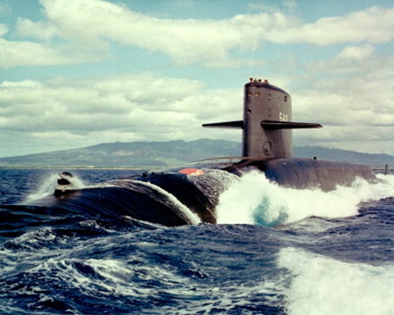 The First American – Benjamin Franklin and the SSBN 640